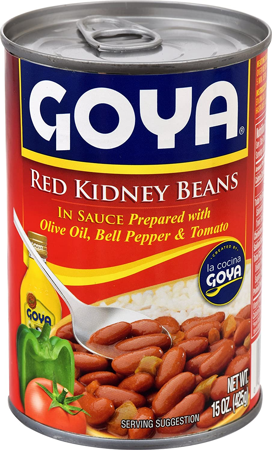 Amazon.com : Goya Foods Red Kidney Beans In Sauce, 15 oz : Kidney Beans Produce : Grocery & Gourmet Food