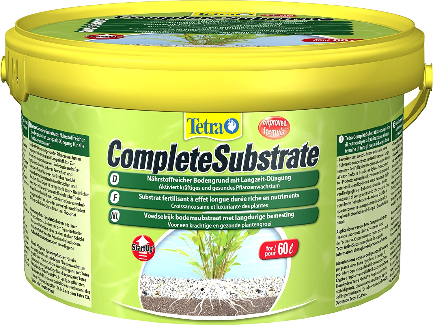 Tetra Complete Substrate, Activates Strong and Healthy Plant Growth in an Aquarium, 2,5 kg 245297