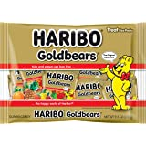 Haribo Goldbears Gummi Candy Treat Bags, Individually Wrapped Mini Bags, 9.5 Ounce (Pack of 1)