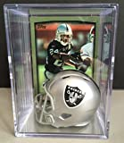 Oakland Raiders NFL Draft Helmet Shadowbox
