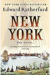 New York: The Novel Paperback