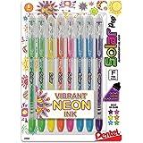 Amazon Price History for:Pentel Solar Pop Neon Gel Pen, 0.6mm Fine Line, Assorted Colors, Pack of 8 (K96BP8M)