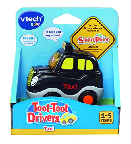 VTech 164103 Baby Toot-Toot Drivers Taxi - Black