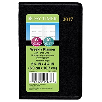 AmazonCom  DayTimer Mini Weekly Planner  Appointment Book