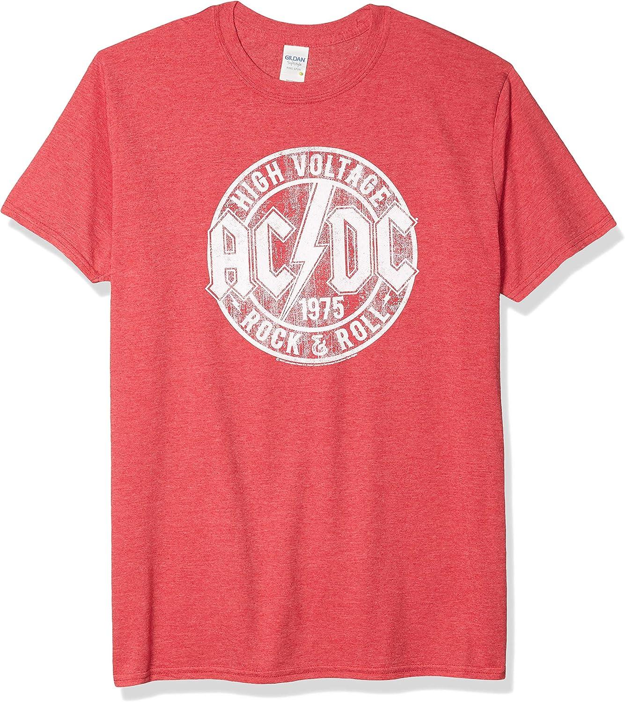 ACDC Heavy Metal Rock Band High Voltage Rock & Roll Camiseta para adulto: Amazon.es: Ropa y accesorios