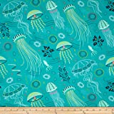 Attirant Michael Miller Into The Deep Tropical Fabric By The Yard