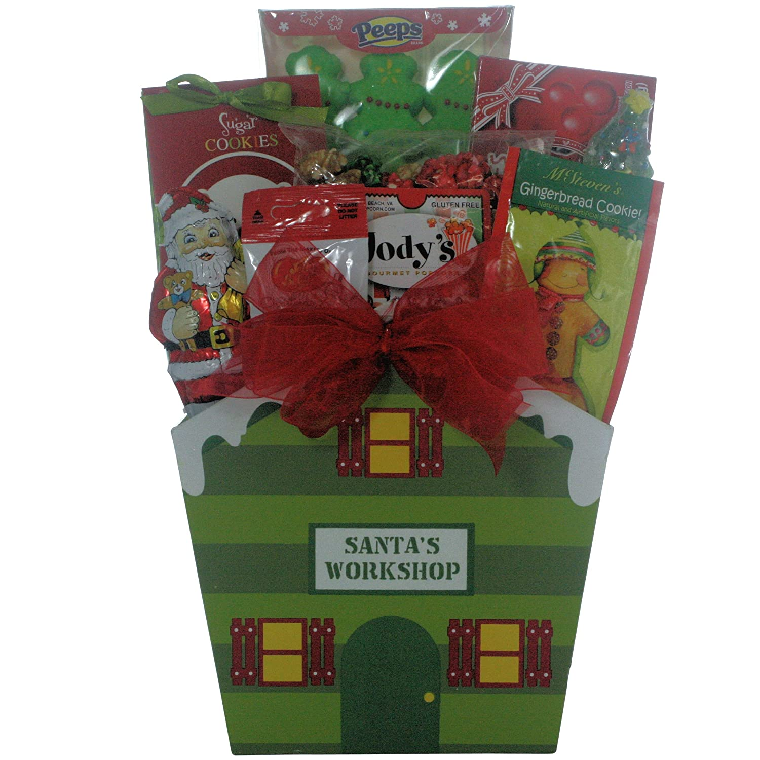 Amazon santa childrens holiday christmas gift basket childrens holiday christmas gift basket gourmet chocolate gifts grocery gourmet food negle Gallery