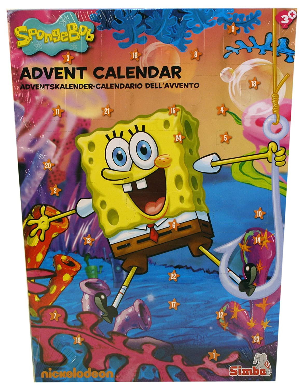 Simba 109497246 - Sponge Bob Calendario Dell'Avvento Simba Toys Italia S.p.A.