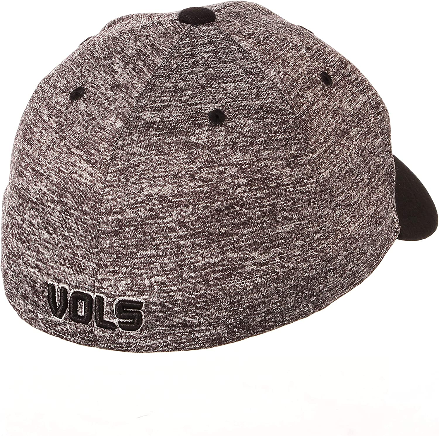 Small Charcoal//Black NCAA Zephyr Tennessee Volunteers Mens Interference Z-Fit Hat