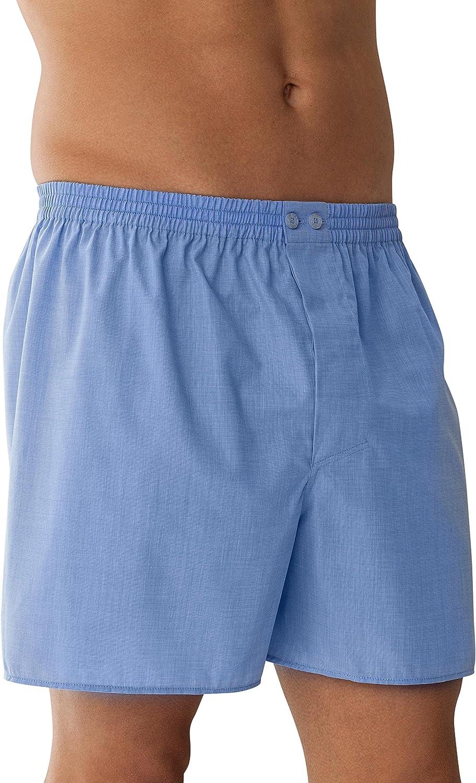 Zimmerli Mens Plain Woven Boxer Nightwear