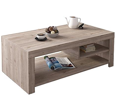 Tavolino 60 X 40.Studio Decor Kansas Tavolino Marrone 110 X 60 X 40 Cm