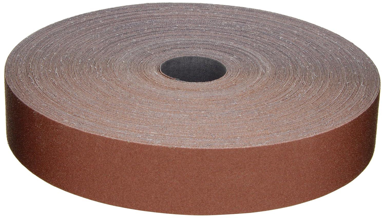 3M Utility Cloth Roll 314D, Aluminum Oxide, 1-1/2' Width x 50 yds Length, P100 Grit, Maroon (Pack of 1) 1-1/2 Width x 50 yds Length