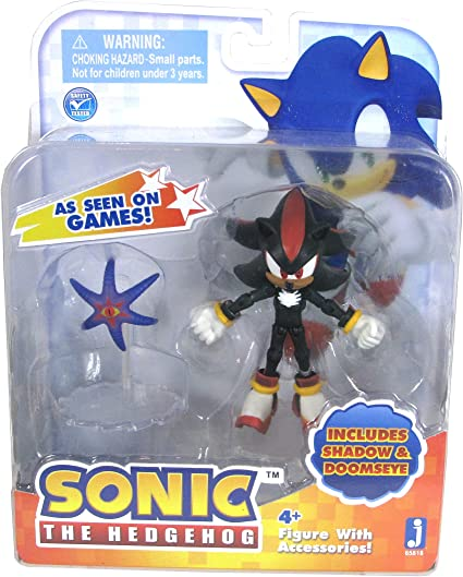 Amazon Com Sonic Shadow 3 Action Figure With Accessory Toys Games