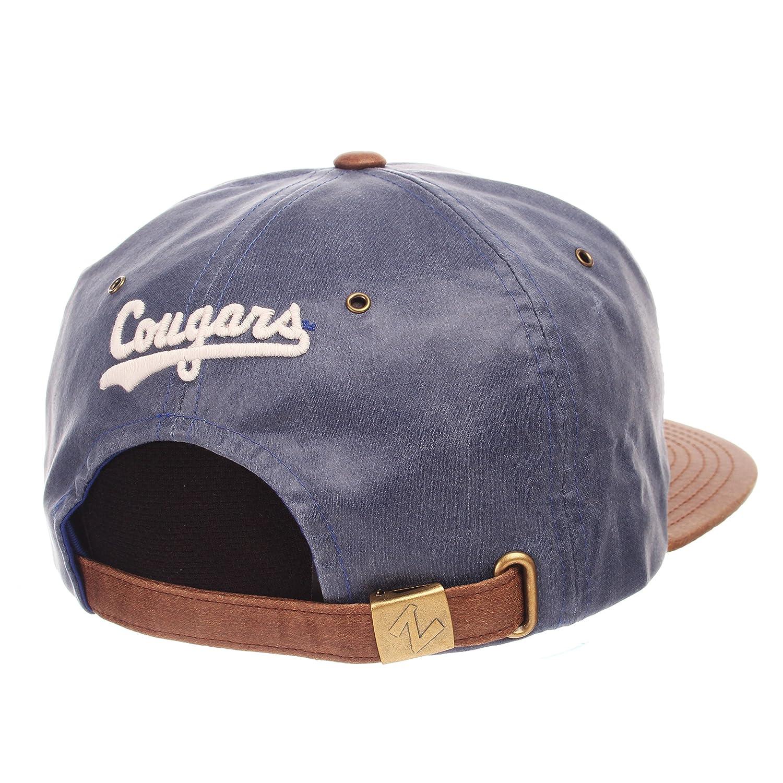 Adjustable Team Color//Cracked Leather Zephyr Adult Men Tribute Heritage Collection Hat