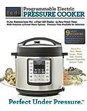 Pressure Cooker, Multi-Use Electric Pressure Cooker, 6 QT Programmable Pressure Cooker