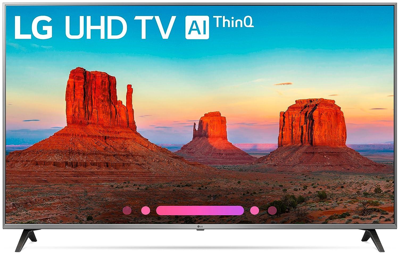 LG Electronics 55UK7700PUD 55-Inch 4K Ultra HD Smart LED TV (2018 Model)