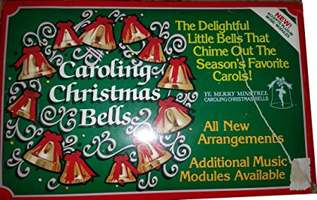 ye merry minstrel caroling christmas bells aus 200