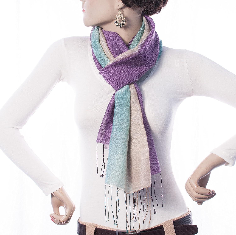 Welkin Women's Silk Stole One Size, Multi-coloured