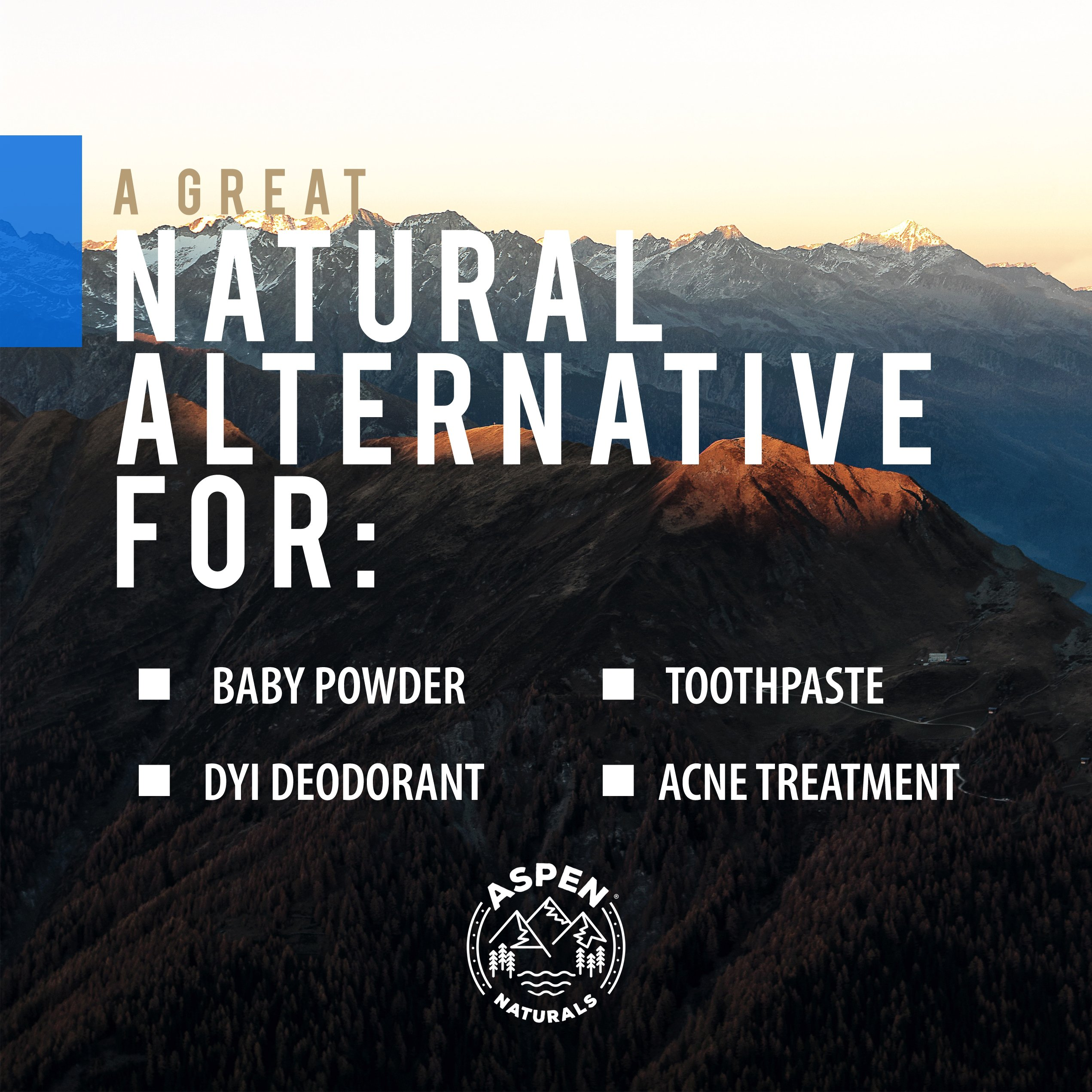Food Grade Calcium Bentonite Clay - 2 LB Bentonite Montmorillonite Powder - Safe to Ingest for The Ultimate Internal Detox or Make a Clay Face Mask for The Best Natural Skin Healing Powder by Aspen Naturals® (Image #5)