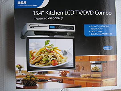 amazon com rca kitchen lcd tv dvd combo 15 4 under cabinet