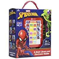 Marvel - Spider-man Me Reader Electronic Reader and 8 Sound Book Library - PI Kids