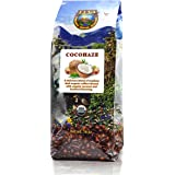 Java Planet - Flavored Coffee Beans, Organic Coffee infused with Organic Coconut and Hazelnut Flavoring, Fair Trade, Medium Dark Roast, Arabica Gourmet Coffee Grade A, packaged in 1 LB bag