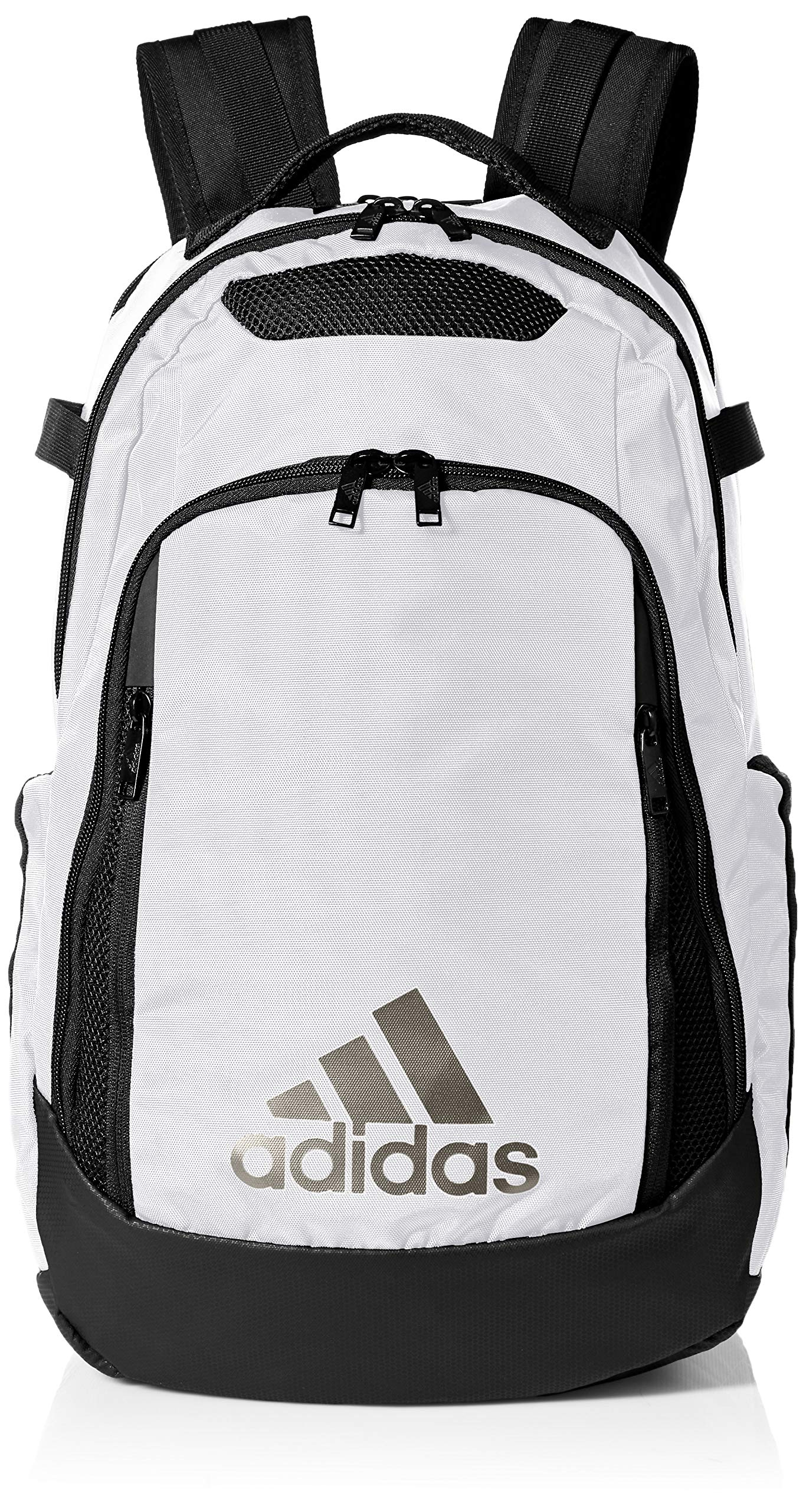 adidas Unisex 5-Star Team Backpack, White/Black, ONE SIZE by adidas