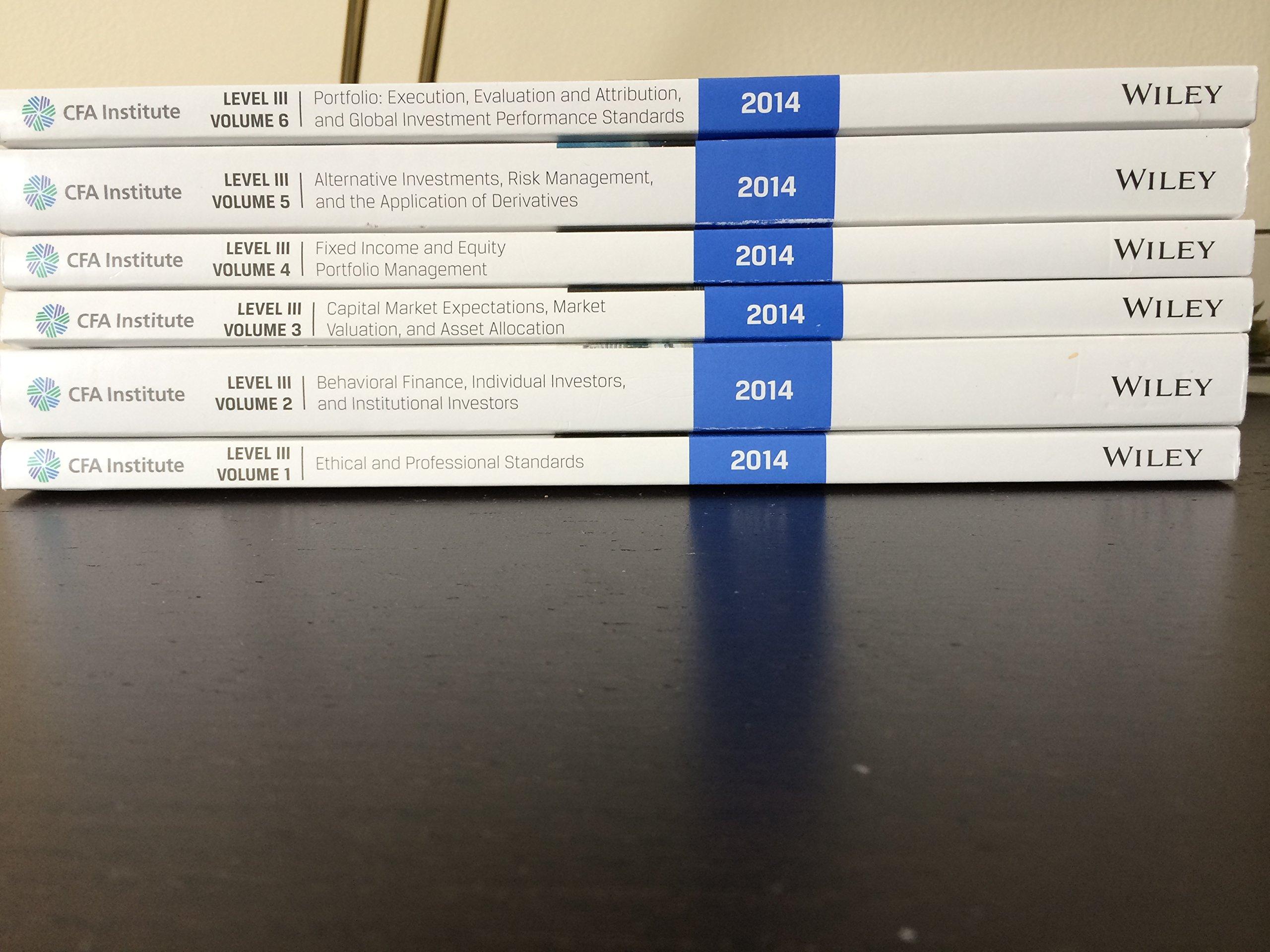2014 CFA Level 3: CFA Institute Program Curriculum Volumes 1