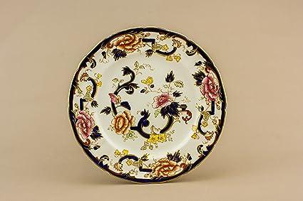 6 piatti fondi ceramica classica mandalay masons gift vintage