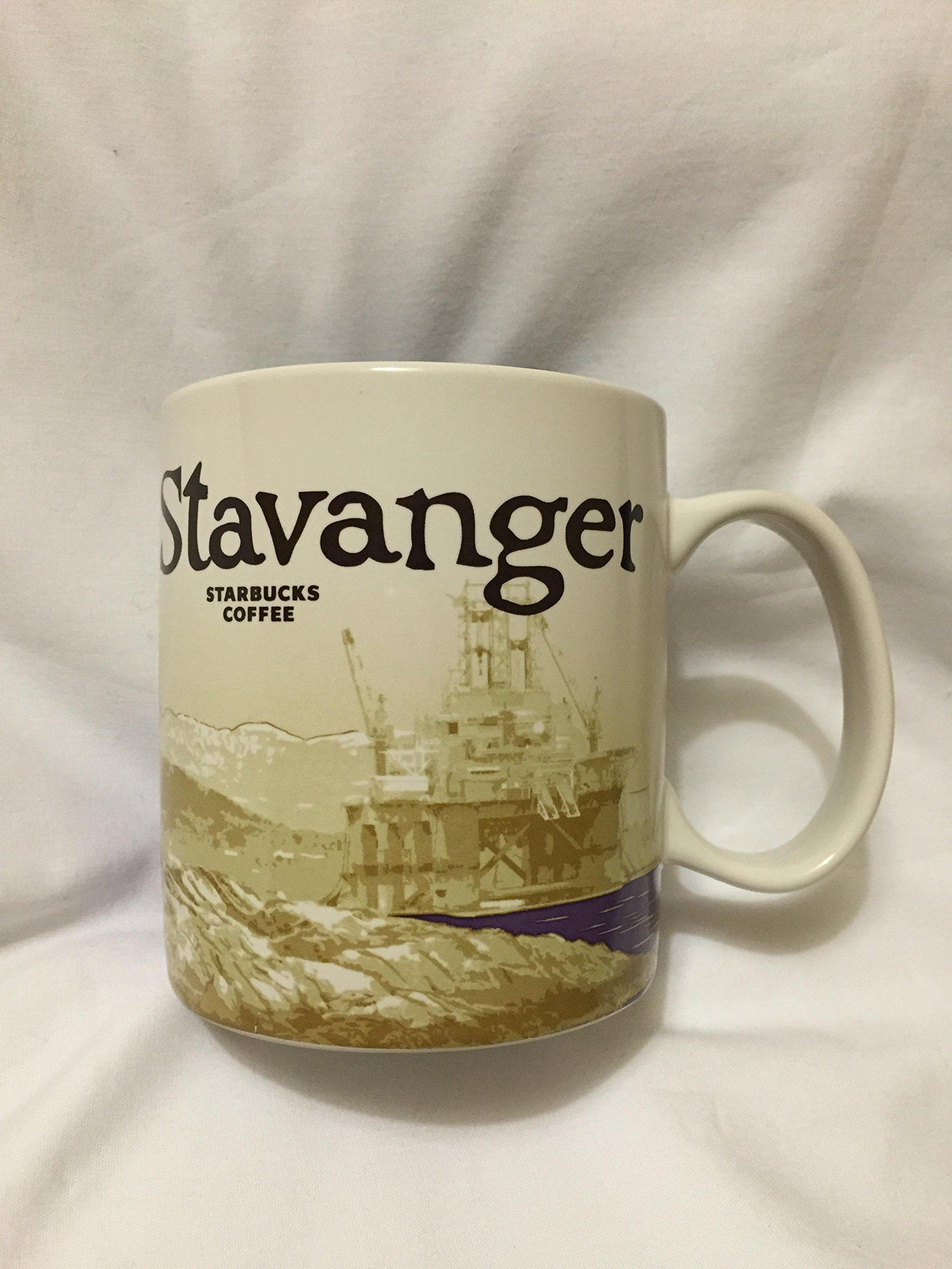 Starbucks Stavanger Norway Icon Coffee Mug Stavenger Oil Pulpit Rock Preikestolen