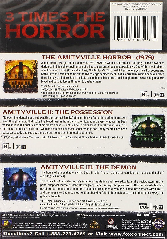 Amazon.com: Amityville Horror Triple Feature, The: James Brolin, Rod ...