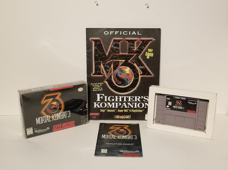 MORTAL KOMBAT 3 SNES 海外版(国内本体動作)