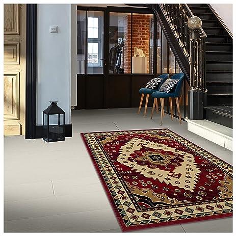 superior aztec collection 2 7 x 8 runner rug