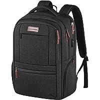 KROSER Laptop Backpack 15.6 Inch Laptop Computer Backpack with USB Charging Port Water-Repellent Travel Business Bag…