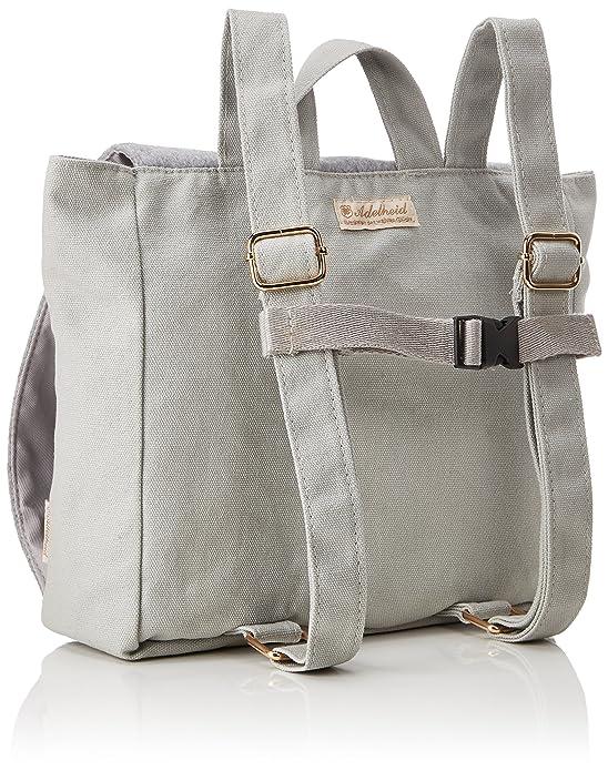 Fabelhaft Kinderrucksack, Girls Backpack, Grey (Silbergrau), 7x22x23 cm (B x H T) Adelheid