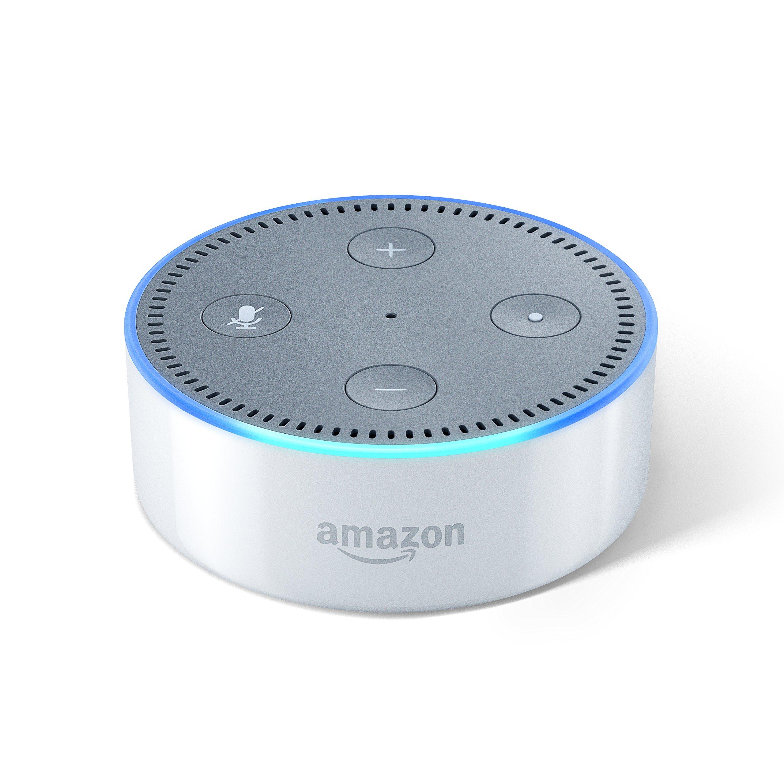 Echo Dot (エコードット) - スマートスピーカー with Alexa、ホワイト