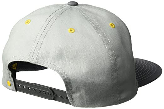 Caterpillar Mens Diesel Power Flat Bill Cap, Light Grey One Size at Amazon Mens Clothing store: