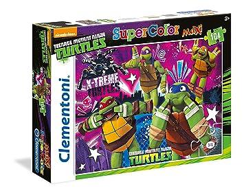 Clementoni - Rompecabezas Tortugas Ninja (23678): Amazon.es ...
