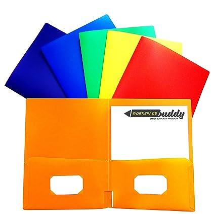 Amazon heavy duty 2 pocket plastic folder 2 sleeve heavy heavy duty 2 pocket plastic folder 2 sleeve heavy duty folders for school executive file reheart Choice Image