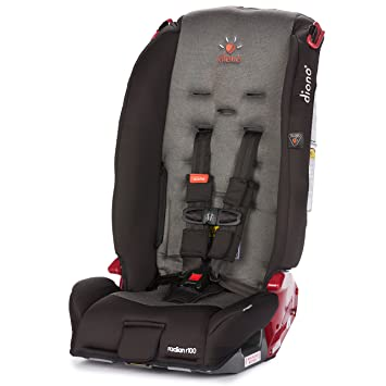 Diono Radian R100 All In One Convertible Car Seat, Black Mist