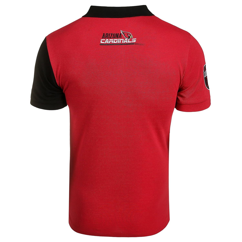 426d595e2cf Amazon.com : Klew NFL Men's Diagonal Stripe Polo : Clothing