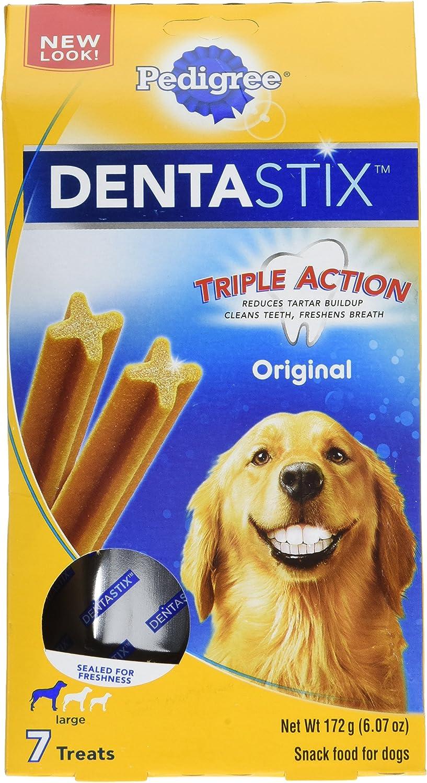 PEDIGREE Dentastix Dental Treats for Dogs, Chicken Grain Free – Large 30 lb
