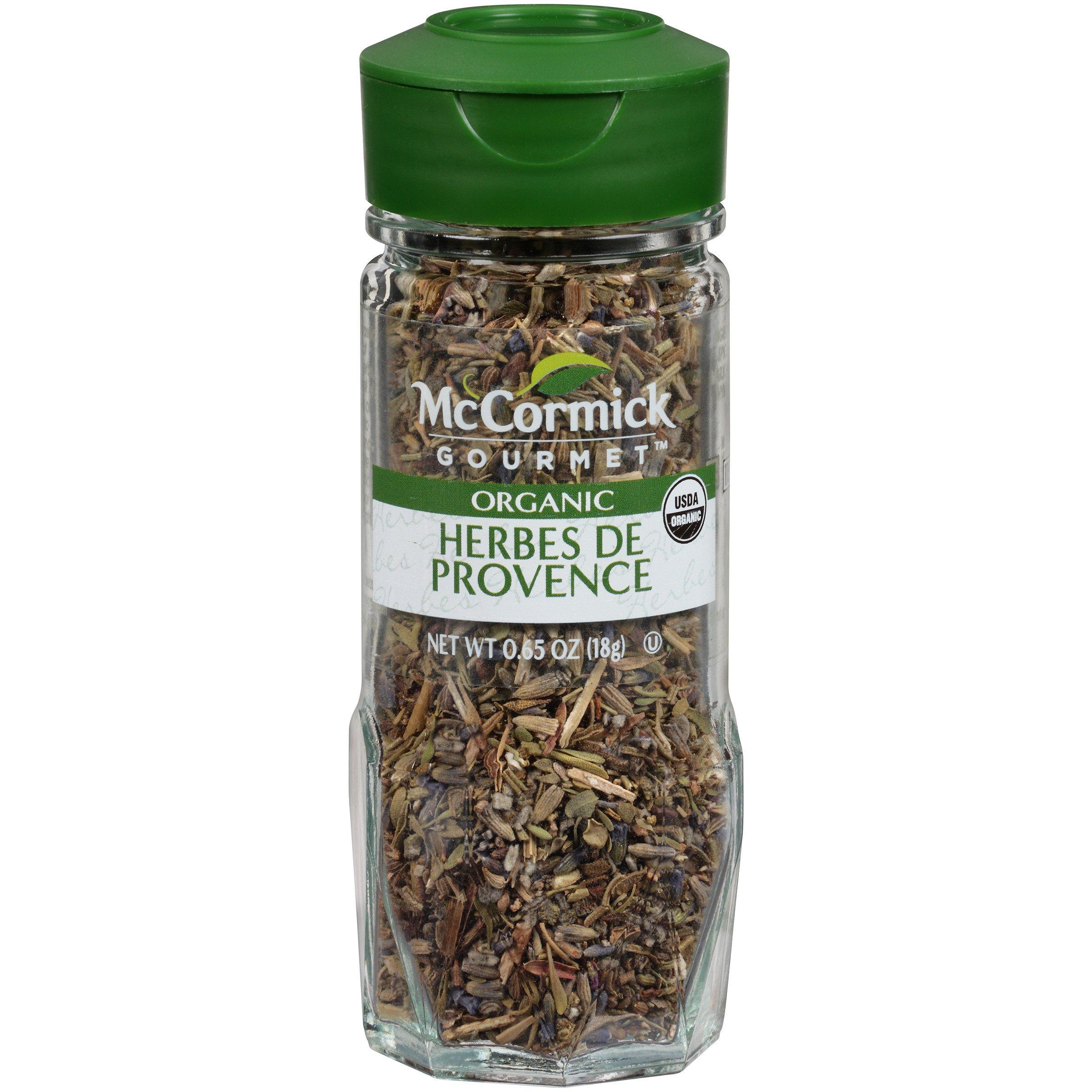 McCormick Gourmet Organic Herbes De Provence, 0.65 oz