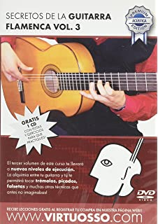 Virtuosso Flamenco Guitar Method Vol.3 (Curso De Guitarra Flamenca Vol.3)