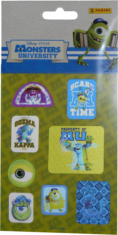 Panini - Juego de Pegatinas Monster University Monstruos, S.A. ...