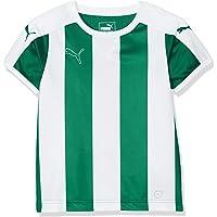 Puma Niños Camiseta a Rayas de Manga Corta.