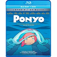 Ponyo (Bluray/DVD Combo) [Blu-ray]
