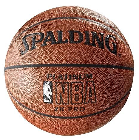 Spalding NBA Platinum ZK Balón de Baloncesto, Unisex, Marron, 7 ...