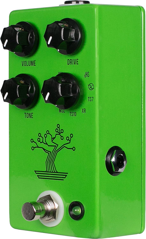Amazon Com Jhs Bonsai 9 Way Screamer Overdrive Guitar Effects Pedal Musical Instruments