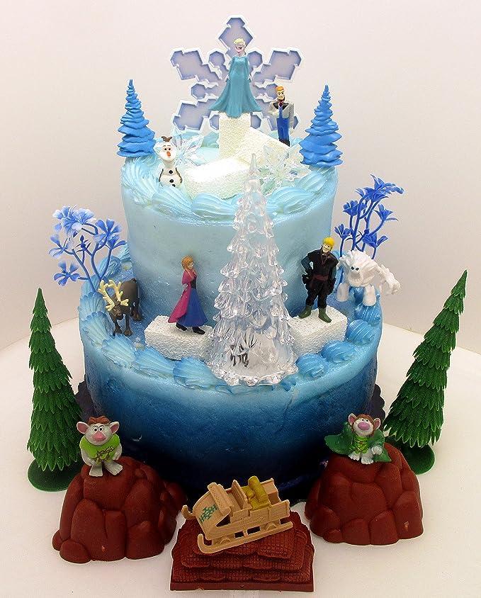 Amazon.com: Frozen Frozen Decoración para Tarta para Set de ...